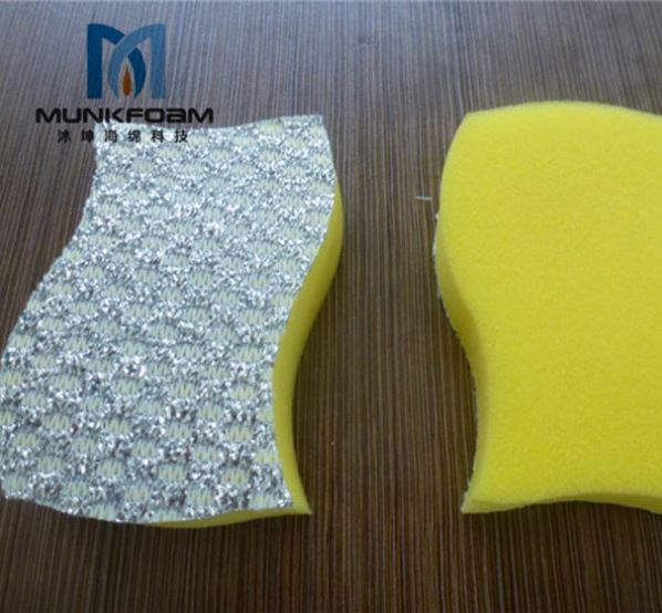 PU COATED Strong Cleaning Sponges-Oem Capacity SCRUBBING WAVE SPONGE