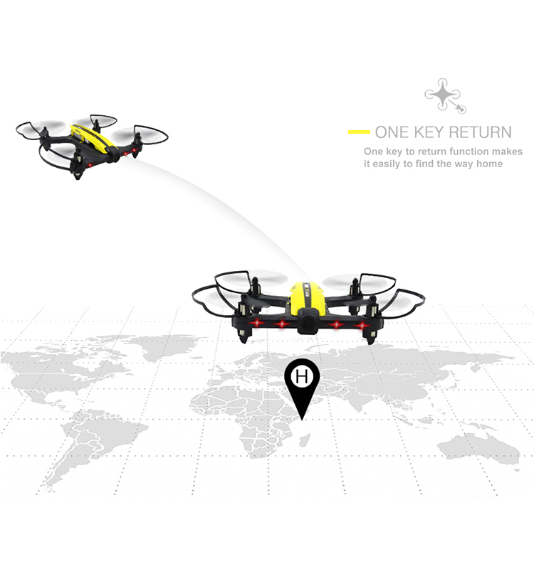 8.  T18D_Yellow_Racing_Drone_with_Altitude_Hold_WIFI_FPV_RC_Drone
