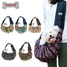 Pet Cat Sling Carrier Bags Reversible Fashion Shoulder Soft Travel Cat Bag