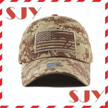 Low profile Tactical Operator USA Flag 100 Cotton Mens Baseball Cap