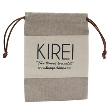 Custom logo printed small <span class=keywords><strong>보석</strong></span> pouch drawstring linen 백 대 한 \ % sale