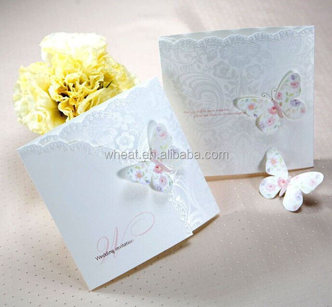 Butterfly Wedding Invitation Cards Butterfly Wedding Invitation – Butterfly Wedding Invitations