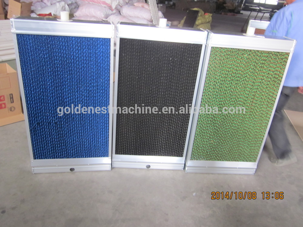 poultry farm cooling pads/chicken farm water cooling pads/chicken shed cooling pad