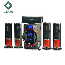 <span class=keywords><strong>Baru</strong></span> Bluetooth Speaker 5.1 Home Theater dengan Remote USB SD FM