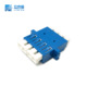 Supply High Quality single mode optic quad Fiber Optic Adapter 4 ports LC optic adaptors LC APC/UPC/PC type 4 core adapter