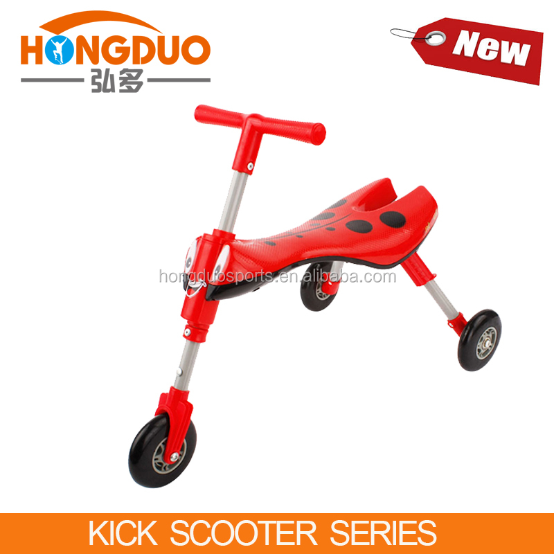 Old design bug scooter,plastic wheel walking scooter