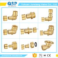 China Factory brass 2 inch sanitary tee fittings copper pipe fittings