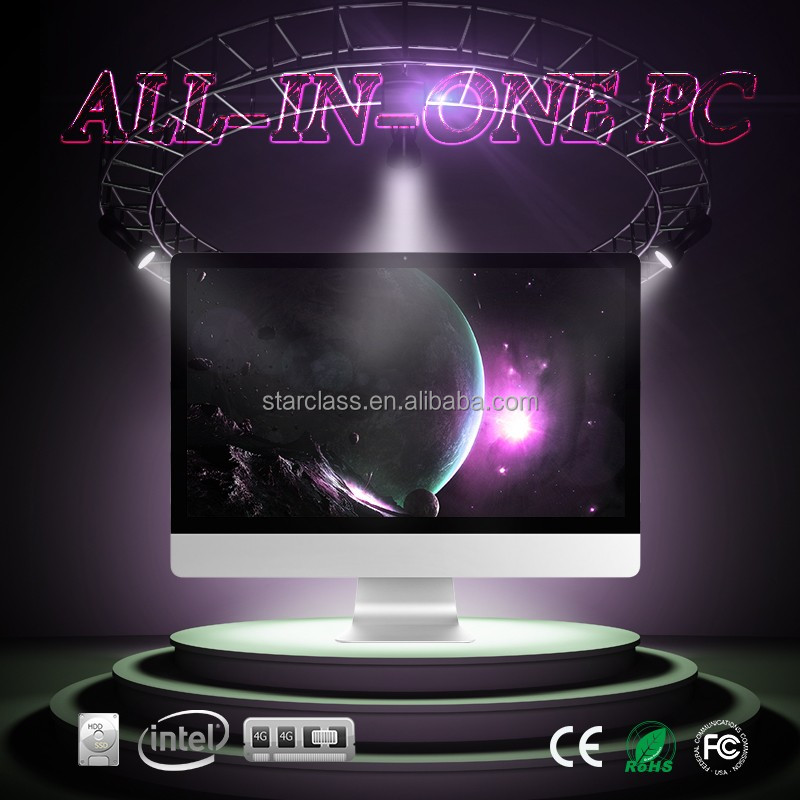 Marvelous All in one PC 23.6 inch Intel Core g3900 4GB RAM 500GB ur dream is reachable now with our computer desktop