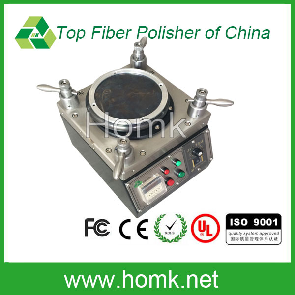 Connector endface polishing machine fiber optical griding machine picture
