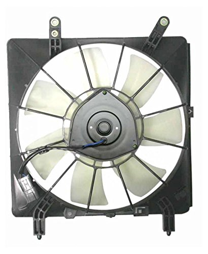 Air Conditioning A/C Condenser Cooling Fan Assembly for 02-06 Acura RSX