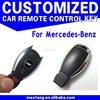New Car Key Shell Replacements 3+1 Buttons 4 Buttons for Mercedes-Benz Remote Key CS071