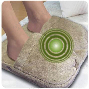 Electric Battery Operated Vibrating Foot Warmer Massager Shoes