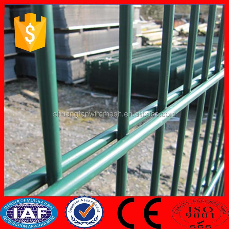 Galvanized Welded Double Wire Fence Panels/double Sides Fence/double ...