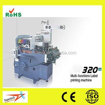 5 Color Automatic Digital Flexo Label Printing Machine