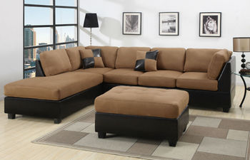 Sectional Sofa Microfiber Sectionals