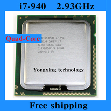 Core i7 940 2.93GHz 8M SLBCK Quad Core Eight threads desktop processors Computer CPU Socket LGA 1366 pin