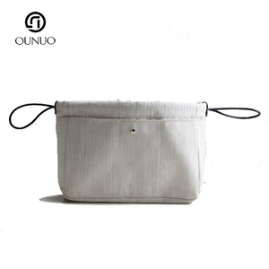 Fashional wholesale white oxford travelling cosmetic bag