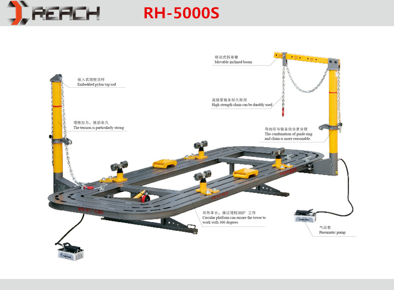 Auto Frame machine/Collision Repair System for hot sale