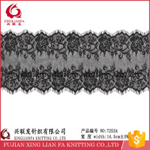 3yards/14.5width china full textile eyelash lace fabric wigs wholesale