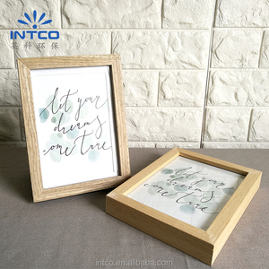 INTCO Hign Value Wood Picture Frame Moulding and Tabletop Photo Frame