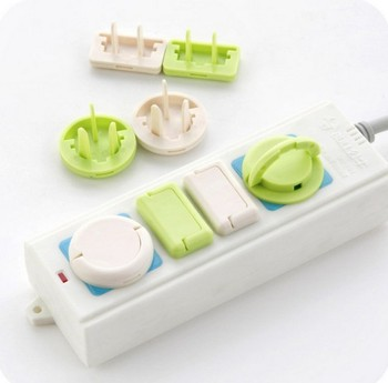 Baby plug socket cover electrical plug safety cover plastic baby safety socket electric Baby Safety Products