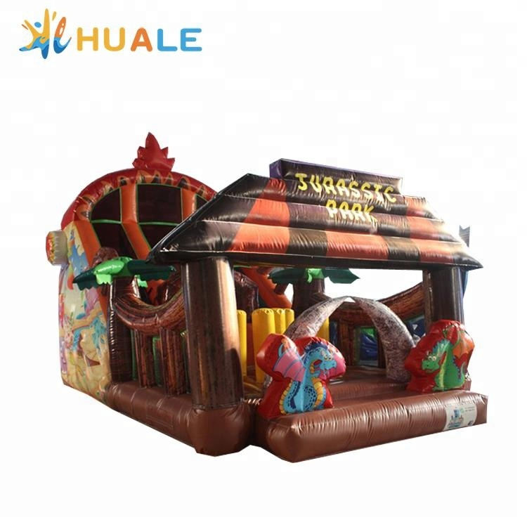 High Quality Dinosaur Inflatable Combos/Inflatable Bouncer Slide For Kids