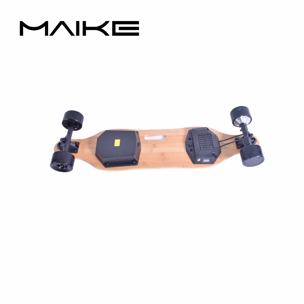 Dual hub motors boosted board electric skateboard фото