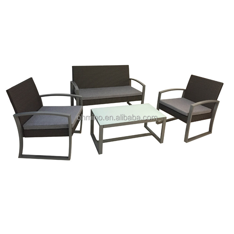 Barato rattan jardín nuevo estilo diseño al aire libre muebles ...