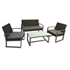 cheap rattan garden new style design outdoor furniture bangkok