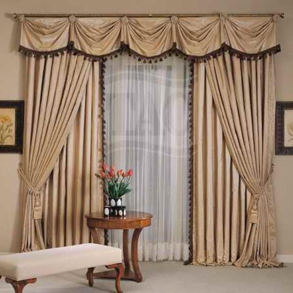 woonkamer gordijnen model van levende kamer gordijn-gordijn ...