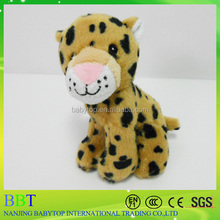 Nanjing supply wild animal models toy moving leopard moving toy