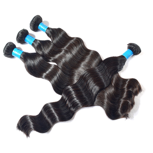 KBL Grade 6A ethiopian virgin hair,no chemical processed ethiopian human hair