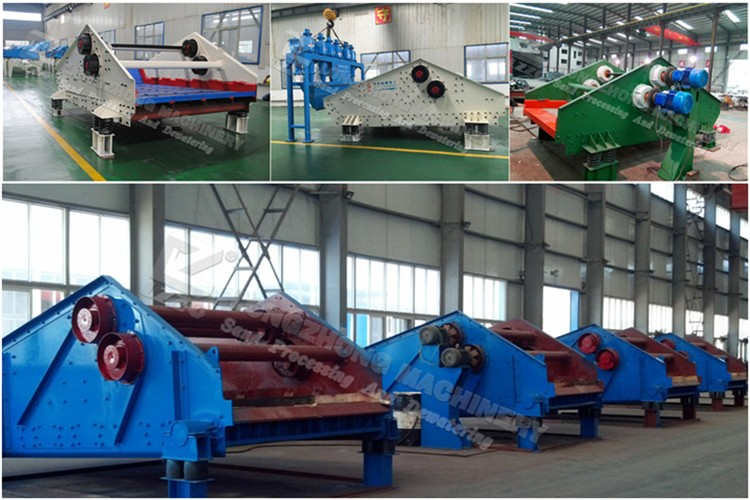 Factory price tailings dewatering screen with cyclone, tailing dewater machine