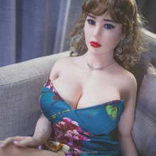 163cm Perfect Plastic Women sex doll with big boobs American Oral head