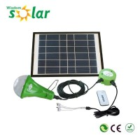 Portable new useful CE led solar lantern for home lighting with mobile phone charger