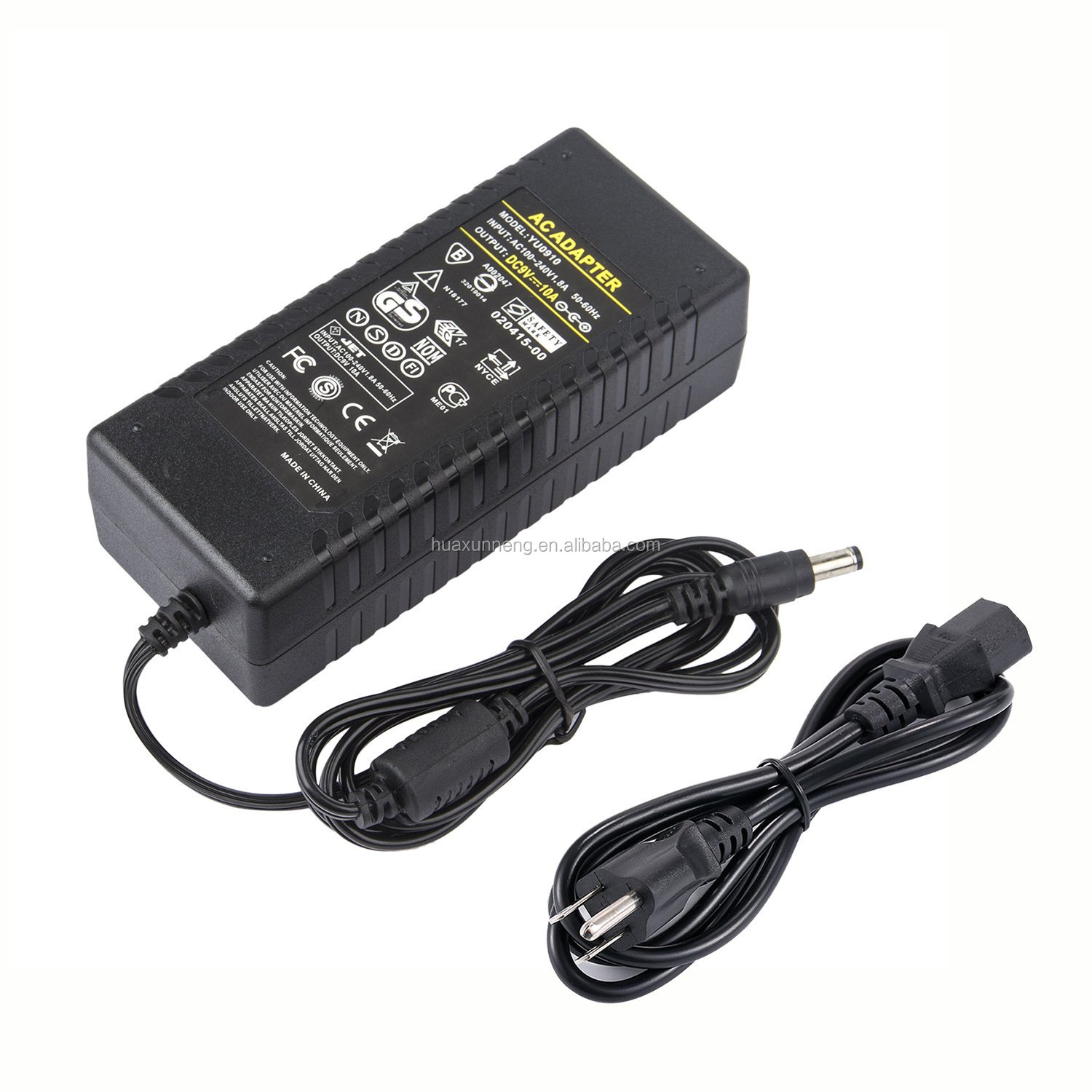 Adaptor AC/DC 9 V 10A 90 W Desktop Power Adapter 9 V 10A 90 W Power Supply