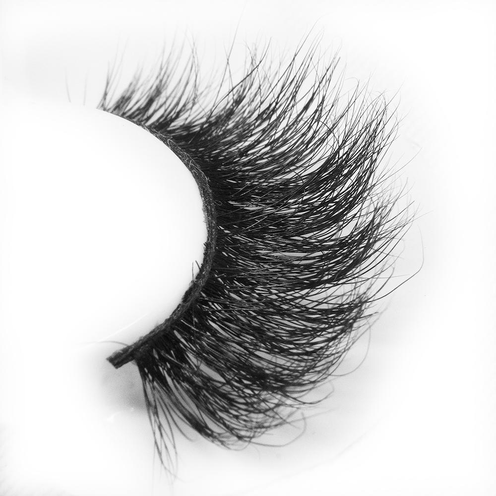 Wholesale 3d eyelash strips mink fur lash vendor with custom