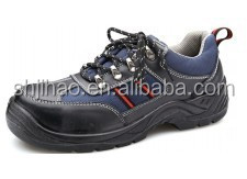 Waterproof high quality genuine Leather Safety Footwear with PU sole