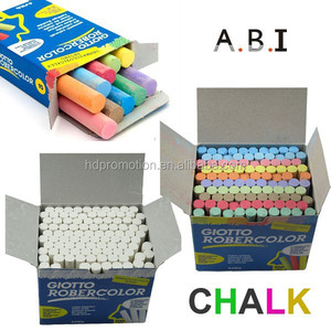 Government bid Color Dustless Calcium carbonate Chalk For School
