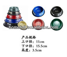 High quality 2012 colorful raised dog bowls