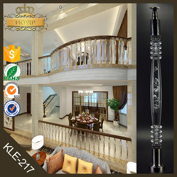 Handrail For Indoor Stair Portable Stair Railings Crystal Spiral Stair