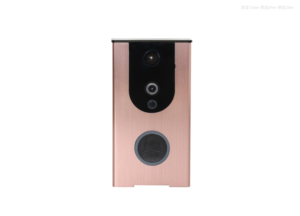 new item smart wifi video doorbell camera no need charge within 8 month
