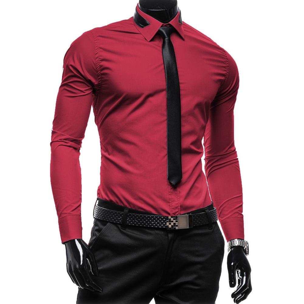 94aefb10959f2 camisas hombre rojas