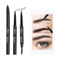 Custom made soft tones Automatic cosmetic art eyebrow pencil