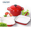 Wholesale Custom Enamel Cast Iron Camping Cookware