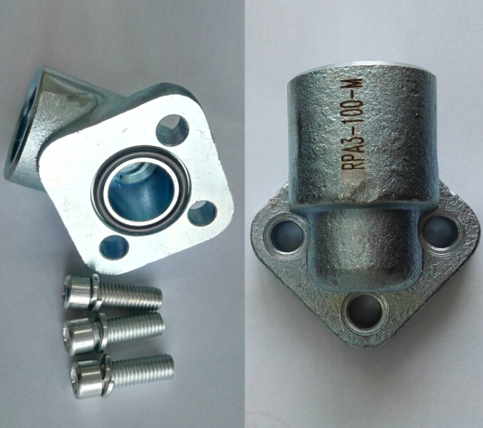 gear pump steel flange, RPA serie