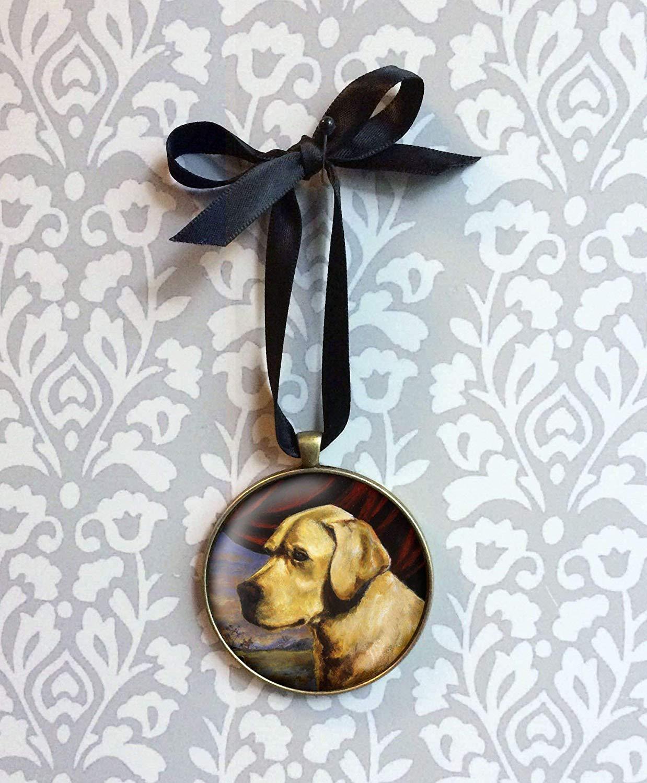 Dog Ornament, Labrador Ornament, Christmas Ornament, Labrador Retriever, Yellow Lab, Golden Retriever, Dog Portrait, Pet Owner Gift