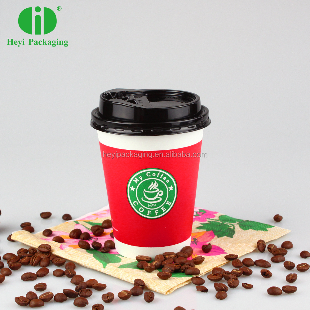 Christmas Candy Paper Cups Double Walls koffiekopjes gemaakt in China