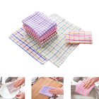 Absorbent household cleaning wipe cotton cloth