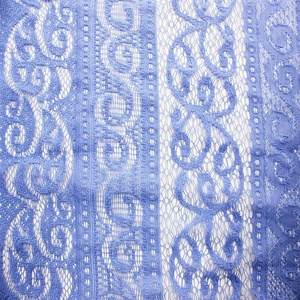 new trend product african guipure lace fabric 2016 blue bobbin lace textile